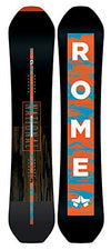 Rome Snowboards National Snowboard, Black, 149