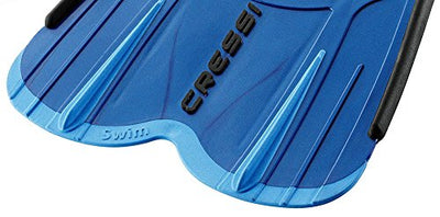 Cressi AGUA SHORT, Adult Short Fins for Swimming & Snorkeling - Made in Italy - Cressi: Italian Quality Since 1946