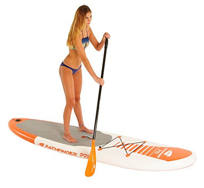 "Pathfinder Inflatable SUP Stand Up Paddleboard 9' 9"" (5"" Thick)"