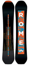 Rome Snowboards National Snowboard, Black, 167 W