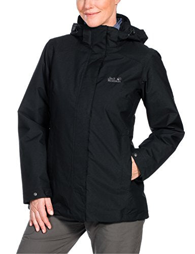 Jack Wolfskin Women's Vernon Jacket, Large, Black