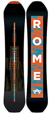 Rome Snowboards National Snowboard, Black, 156