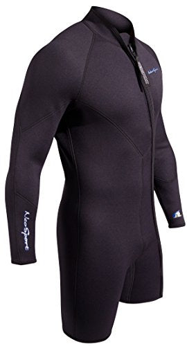 NeoSport Men's Premium Neoprene 3mm Waterman Wetsuit Jacket