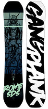 Rome Snowboards Gang Plank Snowboard, Black, 158