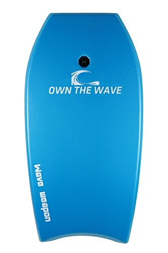 Beach Attack Pack' - WAVE WEAPON Super Lightweight Body-board (41 inch Blue) by Own the Wave