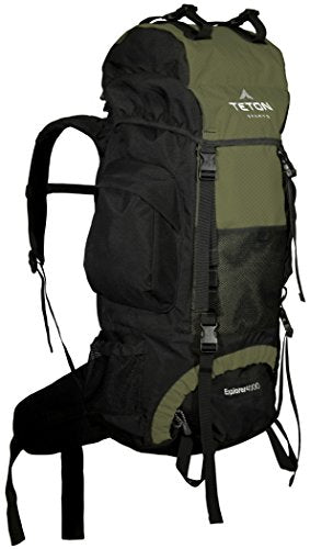 TETON Sports Explorer 4000 Internal Frame Backpack; Great Backpacking Gear; Backpack for Men and Women; Hiking Backpacks for Camping and Hunting; with a New Limited Edition Color; Free Rain Cover Included