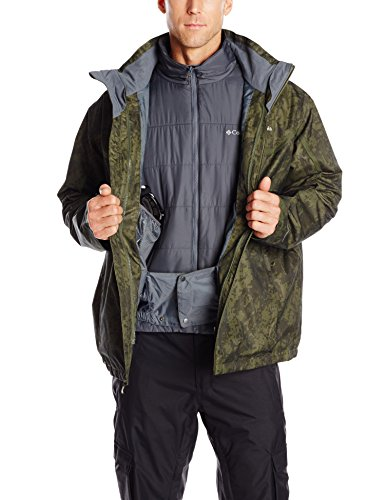 search for genuine various kinds of new appearance Columbia Sportswear Men's Big Whirlibird Interchange Jacket, Surplus  Green/Graphite, 2X
