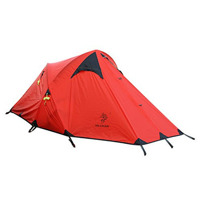 OUTAD HILLMAN Portable Camping Backpacking Tent Coated with Silicon Super Wind-proof Tent (Orange)