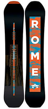 Rome Snowboards National Snowboard, Black, 162 W
