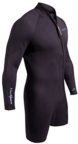 NeoSport Men's Premium Neoprene 7mm Waterman Wetsuit Jacket