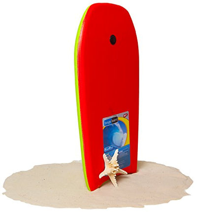 Boogie Board 33 Fiberclad Bodyboard - Durable Fiberclad Deck with Phuzion Core and Leash - Choose Your Graphics