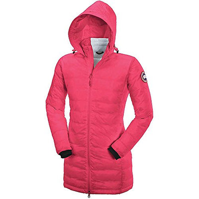 Canada Goose Camp Down Hooded Jacket - Women's Summit Pink Medium