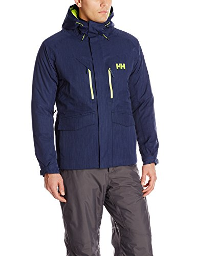 Helly Hansen Men's Verglas Glacier Insulated Jacket, Evening Blue, X-Large