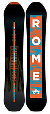 Rome Snowboards National Snowboard, Black, 152