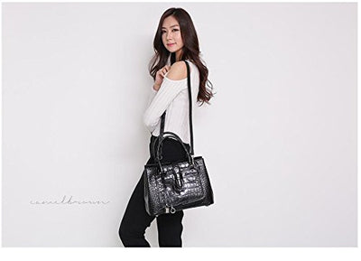Piana Wani Tote Shoulder Bag 0412 (Black)