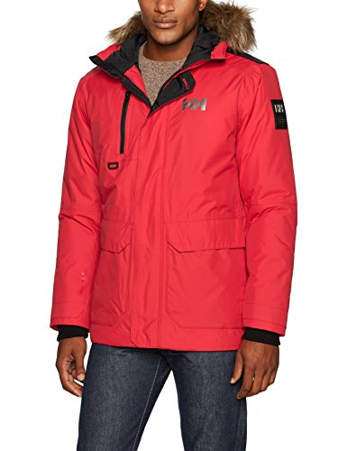 Helly Hansen Svalbard Parka, Flag Red, Small