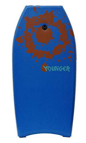Younger 41 inch Super Bodyboard with IXPE deck, Perfect surfing, Blue