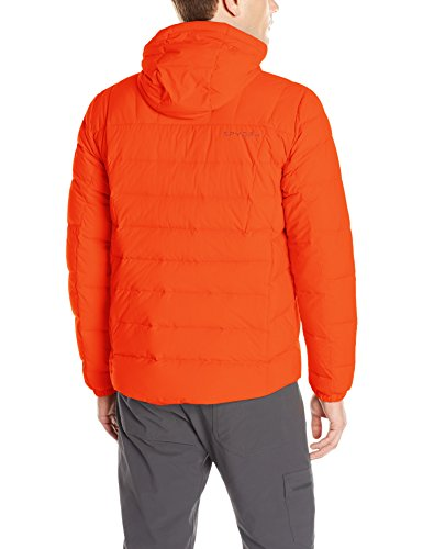 Spyder Men's Dolomite Hoody Down Jacket, Rage/Polar, Medium
