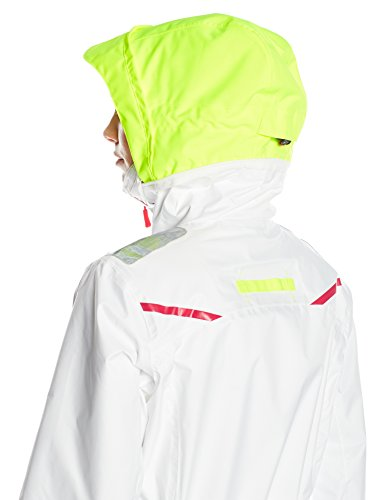 Helly Hansen Women's Sandham Jacket, White, X-Large