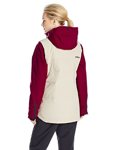 Oakley Women's Wildfire Bio Zone Down Jacket, Wood Grey, Large