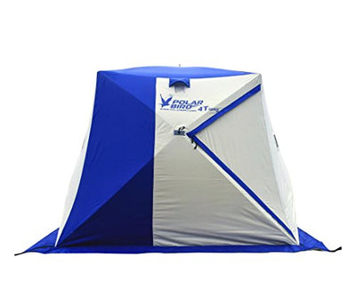 Polar Bird 4T Insulated Pop-Up 4 Person Ice Shelter (Insulated Floor Included ) …
