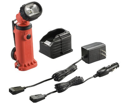 Streamlight 91652 Knucklehead HAZ-LO Rechargeable Flood Light with 120-volt AC Charger, Orange