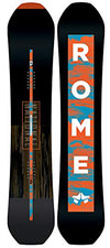 Rome Snowboards National Snowboard, Black, 157 W