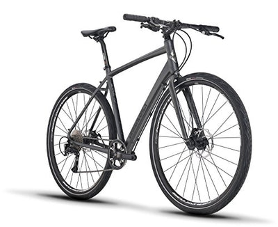 Diamondback Bicycles Haanjo 1 Gravel Adventure Road Bike, Silver, 53cm, Matte Silver, 53cm/Medium