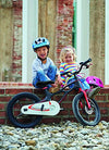 RoyalBaby Space Shuttle kid's bike, lightweight magnesium frame, 16 inch with training wheels and kickstand
