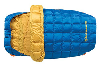 "Big Agnes - Sentinel 30 Sleeping Bag with 600 DownTek Fill, 40"" Double Width"