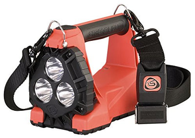 Streamlight Vulcan 180 LED Rechargeable Lantern AC/DC Charger 1200 Lumen, Orange
