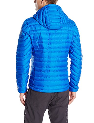 Sherpa Adventure Gear Men's Nangpala Hooded Down Jacket, Sarkar Blue/Rathee, Medium
