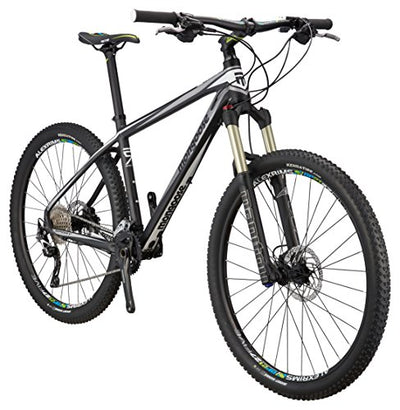 "Mongoose Meteore Sport Mountain Bike 27.5"" Wheel, Black, 15.5 inch / Small"