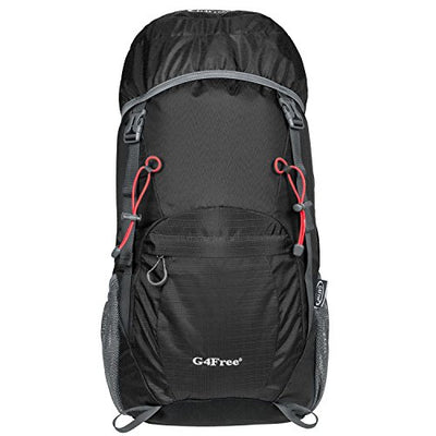 G4Free Large 40L Lightweight Travel Backpack Hiking Daypack