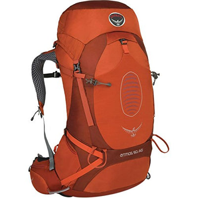 Osprey Men's Atmos AG 50 Backpack (2017 Model), Cinnabar Red, Medium