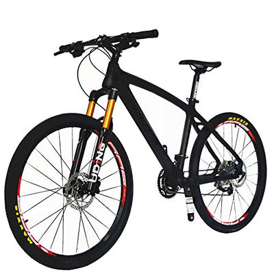 BEIOU Carbon Fiber Mountain Bike Hardtail MTB 10.65 kg SHIMANO M610 ...