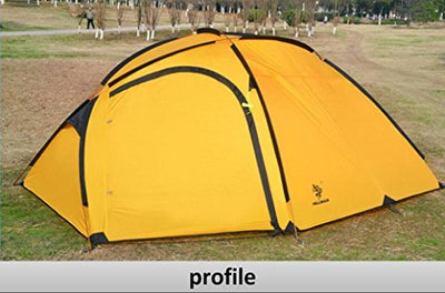 Hillman Tent, 4 Person, 3 Season,Portable Lightweight Durable Waterproof
