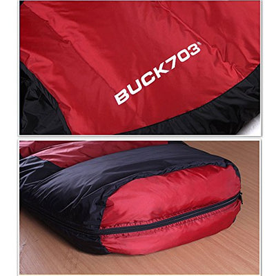 Goose Down Sleeping Bag Mummy Camping Backpacking Hiking Compact Winter