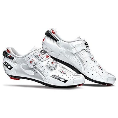 Sidi Wire Carbon Vernice Road Shoes 2015 White/Black/Iride 38