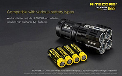 Nitecore 6000-Lumen Flashlight/Searchlight
