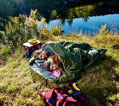 Double Sleeping Bag For Backpacking, Camping, Or Hiking. Queen Size XL! Cold Weather 2 Person Waterproof Sleeping Bag For Adults Or Teens. Truck, Tent, Or Sleeping Pad, Lightweight -Sleepingo
