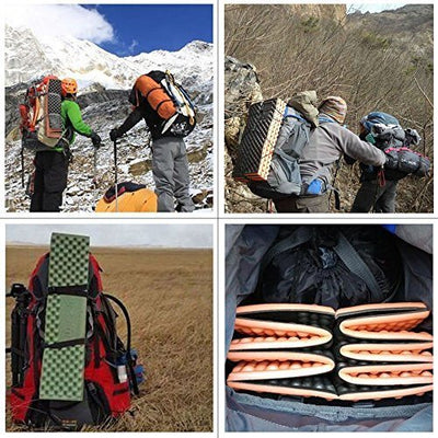 Outdoor Hiking Mountaineering Foam Camping Mat Sleeping Pad in Tent Dampproof Mattress Foam