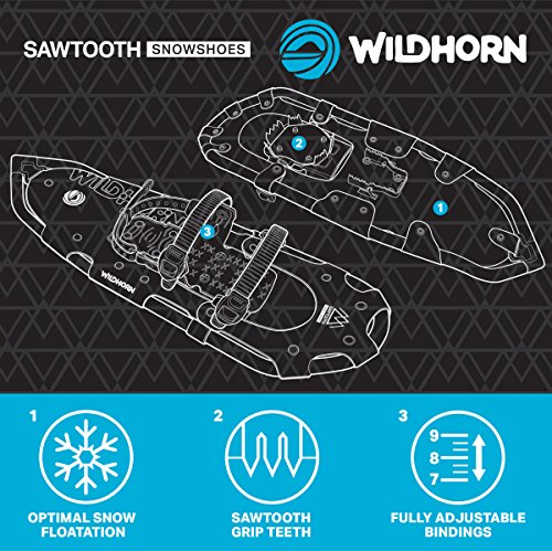 Wildhorn Sawtooth Snowshoes For Men And Women. Fully