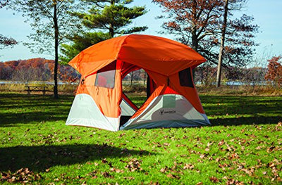 detailed look ef727 70c1f Gazelle 22272 T4 Pop Up Portable Camping Hub Tent, 4 Person