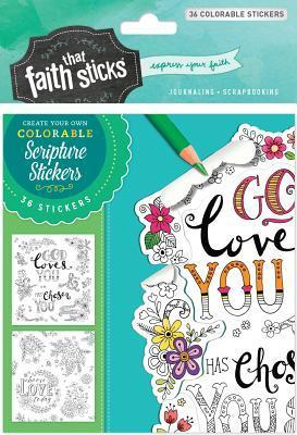 1 Thessalonians 1:4 Colorable Stickers