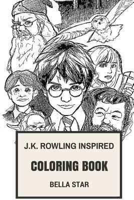 J.K. Rowling Inspired Coloring Book