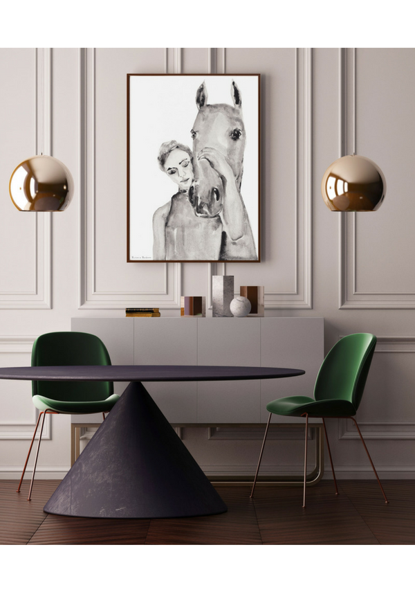 She was like Home - Fine Art Print