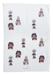Tea Towel: Fox Bear Badger