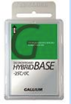 Gallium HYBRID BASE Glide Wax 50g (-2C/-25C)