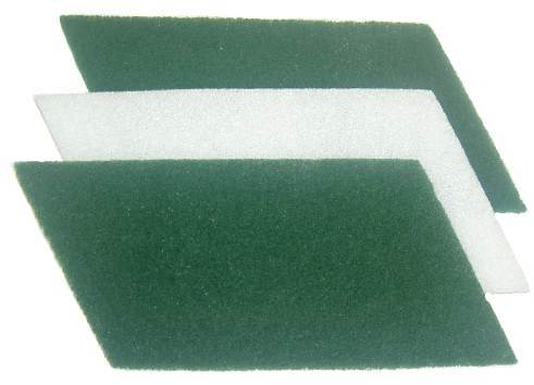Fibertex White, for Velcro roller (3 sheets/pack)